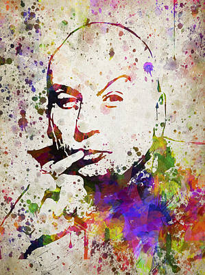 Dr Evil In Color Poster by Aged Pixel