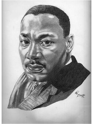 Dr. Martin Luther King Jr. Poster by Van Beard