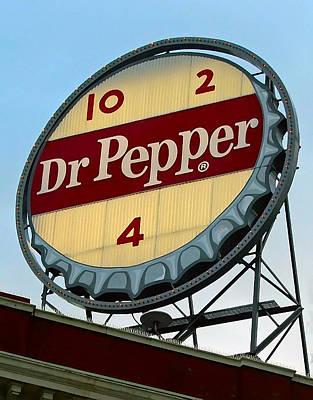 Dr Pepper Poster by Kara  Stewart