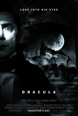 Dracula Custom Poster Poster by Jeff Bell
