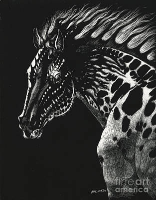 Dragon Horse Poster by Stanley Morrison