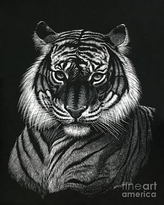 Dragon Tiger Poster by Stanley Morrison