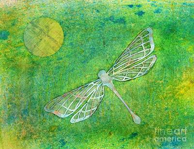 Dragonfly Poster by Desiree Paquette