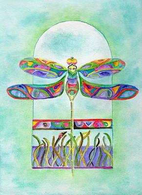 Dragonfly Flight Poster