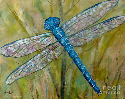 Dragonfly Poster by Lou Ann Bagnall