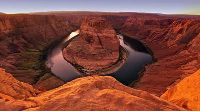 Poster featuring the photograph Dramatic River Bend by David Andersen