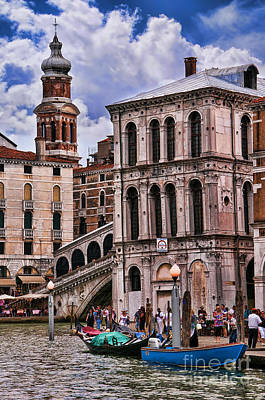 Dramatic Venice Poster