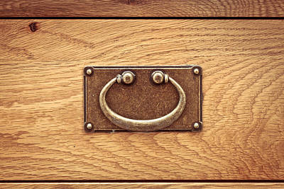 Drawer Handle Poster by Tom Gowanlock