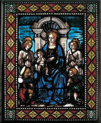 Drawing Cossa Francesco Del, Madonna Poster