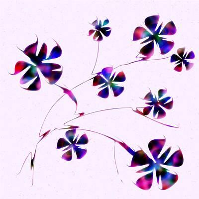 Dream Flowers Poster by Anastasiya Malakhova