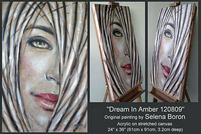 Dream In Amber 120809 Comp Poster by Selena Boron