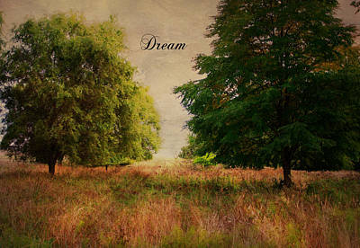 Dream Poster by Marilyn Wilson