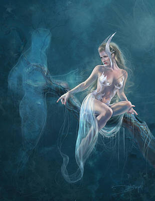Dream Weaver Poster by Drazenka Kimpel