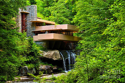 Dreaming Of Fallingwater 4 Poster by Rachel Cohen