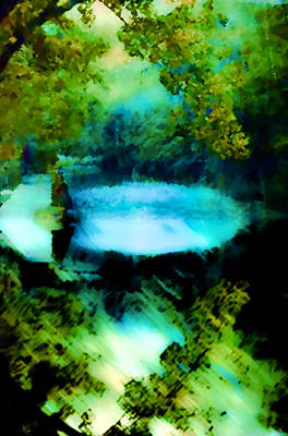 Poster featuring the digital art Dreamland by Catherine Lott