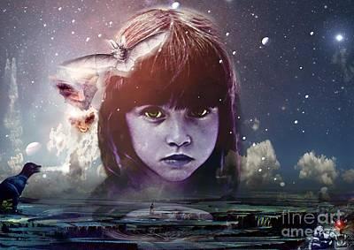 Dreams And Nightmares, Conceptual Artwork Poster