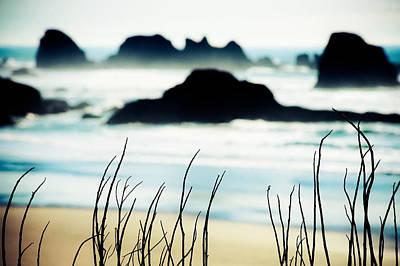 Dreamy Beach Poster by Debi Bishop