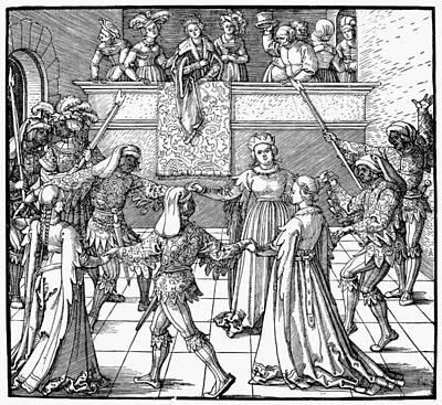 D�rer Masquerade, 1517 Poster by Granger