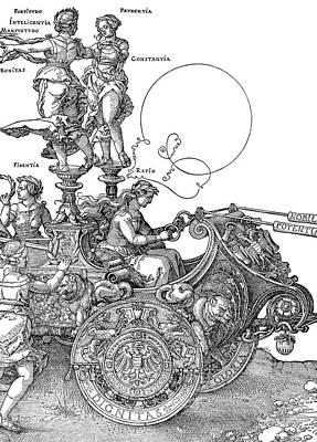 D�rer Triumph Car, 1518 Poster
