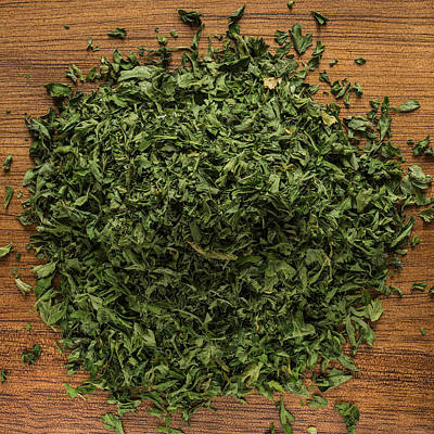 Dried Parsley Poster