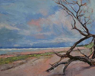 Driftwood Poster by Michael Creese