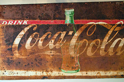 Drink Coca-cola Poster by Tikvah's Hope