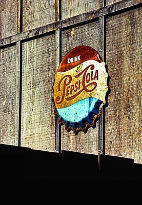 Drink Pepsi Cola Poster by Ron Regalado