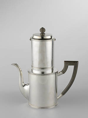 Drip Filter Coffee Pot Poster by Quint Lox