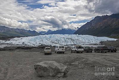 Drive In Glacier Poster