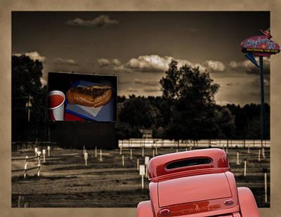 Drive-in Theater Poster by Deborah Klubertanz