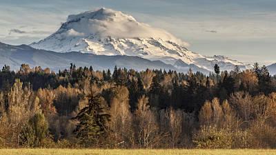 Drive'n Round Mt Rainier Poster