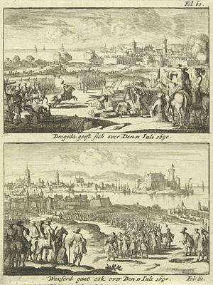Drogheda And Wexford Surrender, 1690, Print Maker Jan Luyken Poster by Jan Luyken
