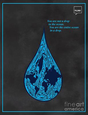 Drop In The Ocean Poster