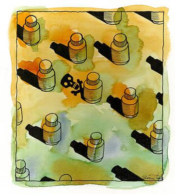 Drugs Poster by Leon Zernitsky