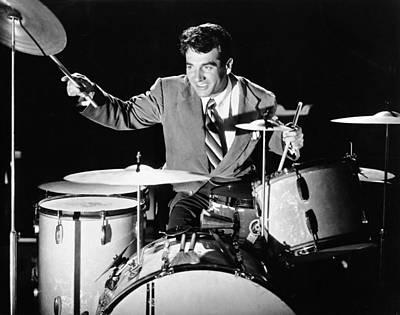 Drummer Gene Krupa Poster