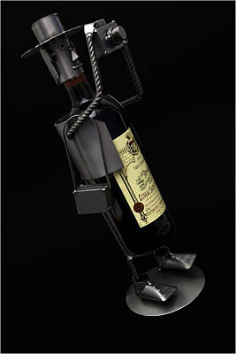 Drunken Tog Poster by Nigel Jones