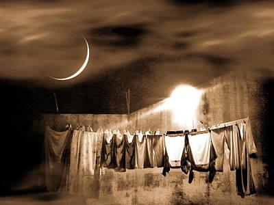 Dry Night Poster by Beto Machado