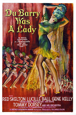 Du Barry Was A Lady, Us Poster, 1943 Poster by Everett