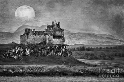 Duart Castle Scotland Poster by Juli Scalzi