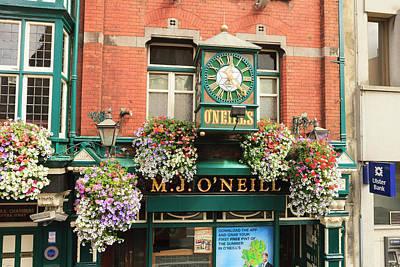 Dublin, Ireland Downtown Poster