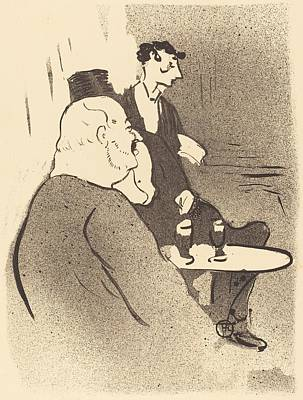 Ducarre At The Ambassadeurs Poster by Toulouse-Lautrec