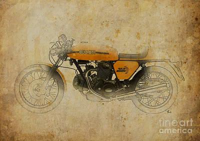 Ducati 750 Sport 1973 Poster