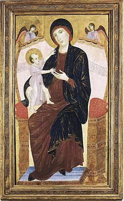 Duccio Di Buoninsegna 1255-1318. Virgin Poster by Everett