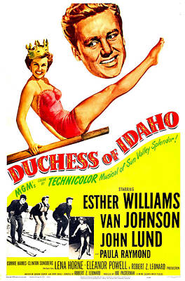Duchess Of Idaho, Us Poster, Top Poster by Everett