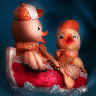 Ducks Poster by Diane Bradley