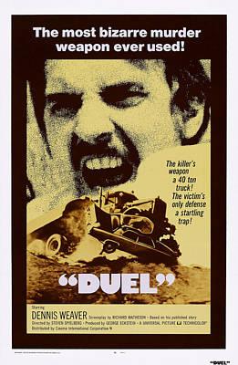 Duel, Dennis Weaver, 1971 Poster