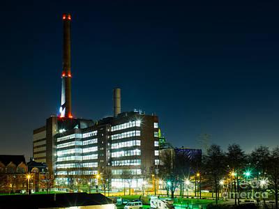 Duisburg Thyssen Krupp Factory Apostel Street Poster
