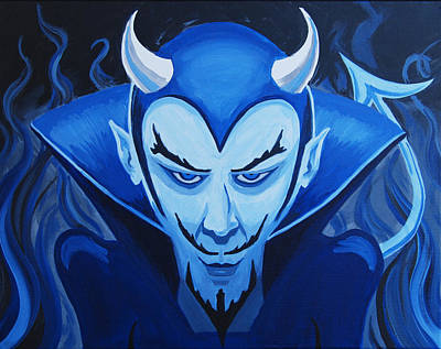 Devil Who Is Blue Poster