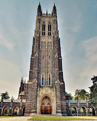Duke Chapel Poster by Emily Kay