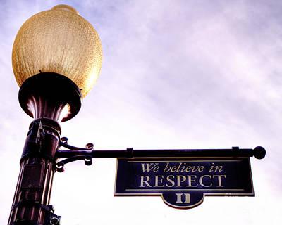 Duke Respect Poster by Emily Kay